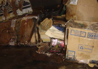 Water Damage Crawlspace